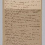 """Italo Svevo, manoscritto de """"La rigenerazione"""""""